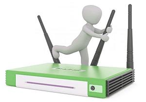 set router